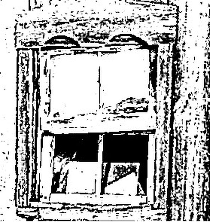 Broken Barn Window - Wayne Bien