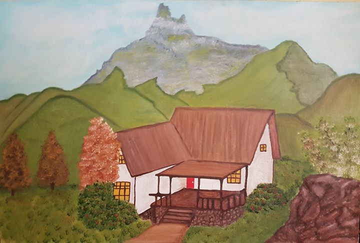 White cabin - Roxanne