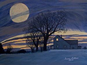 The Old Farm House - Susan Gillmer