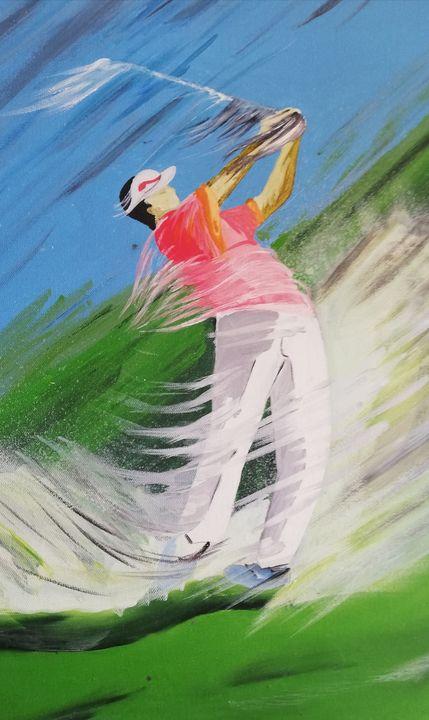 Golfeur - Georges aure