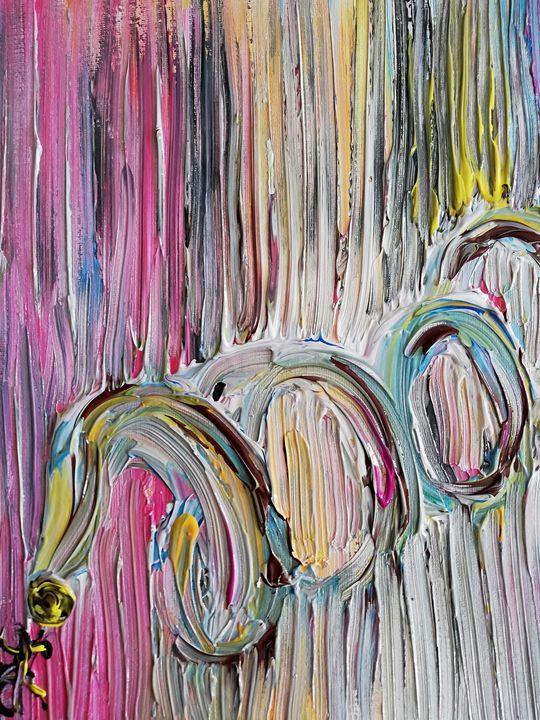 Serpent de couleurs - Georges aure
