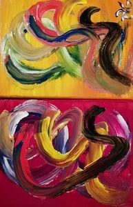 Mosaïque de couleurs 1 partie