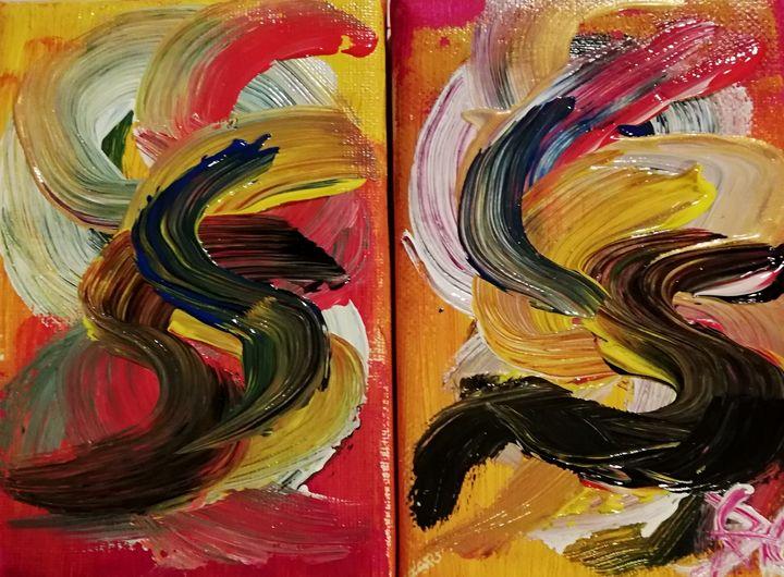 Mosaïque de couleurs 2 partie - Georges aure
