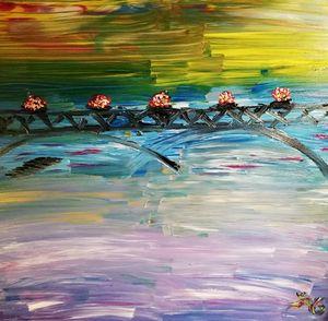 Pont fleuri - Georges aure