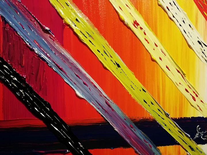 Rayonnement de couleurs - Georges aure