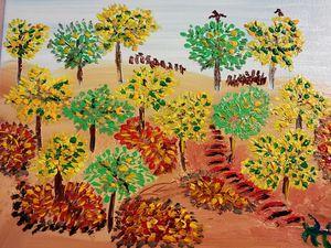 Forêt pleine de vie