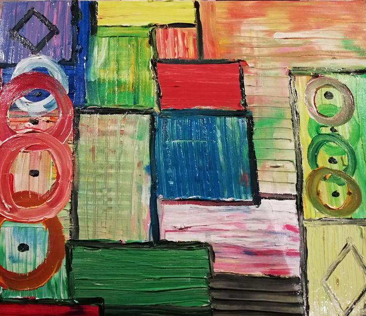 Tapis de couleurs - Georges aure