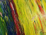Art abstrait d'un champ de culture