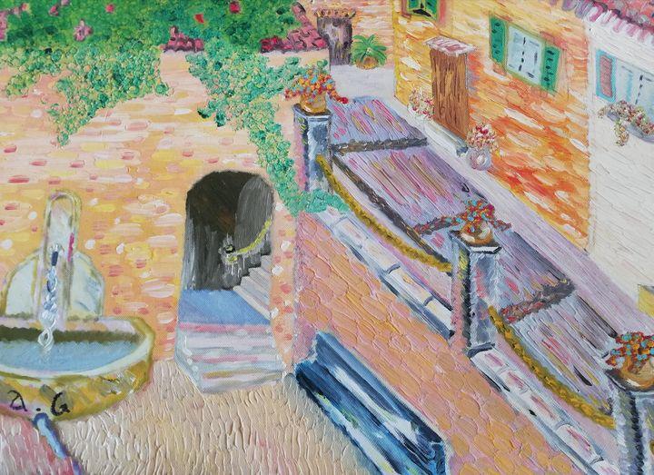Village du midi - Georges aure