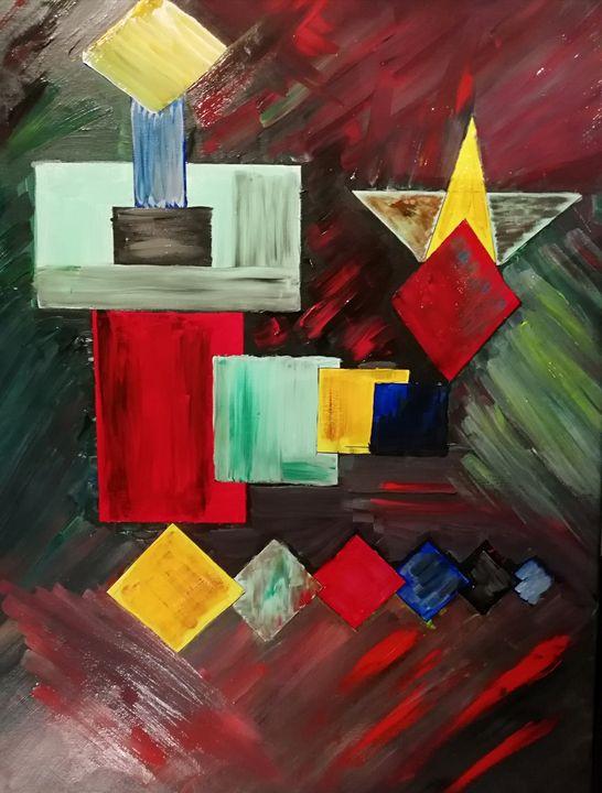 Tapis de couleurs 2 - Georges aure