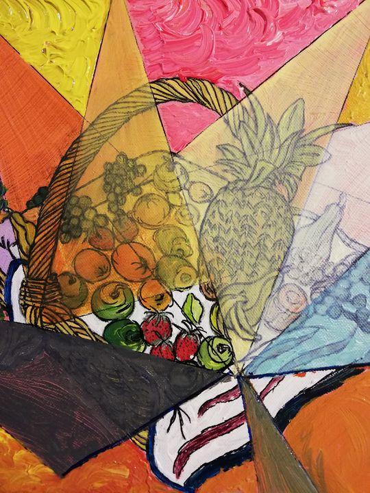Panier de fruits - Georges aure