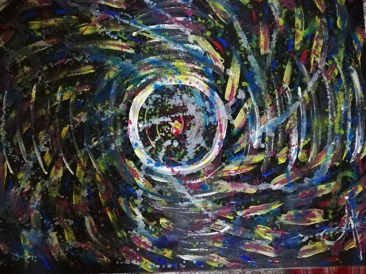 Un trou noir dans l'espace - Georges aure