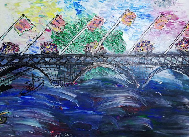 Pont fleurie Bourgogne 2 - Georges aure