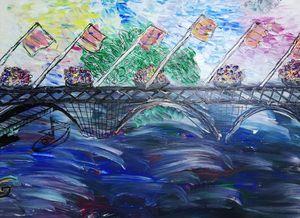 Pont fleurie Bourgogne 2
