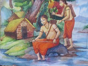 lord rama painting