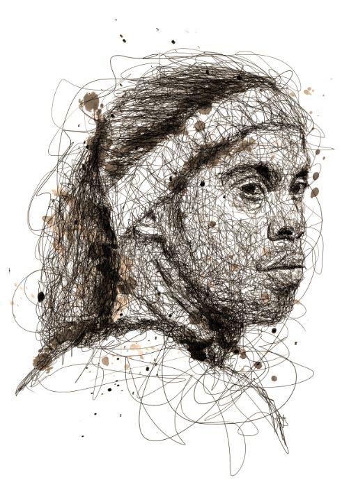 football legend scribbles - izmo scribbles