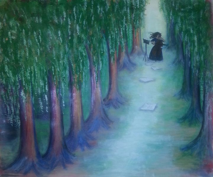 Cello in the morning - Artist Jamie Mossier