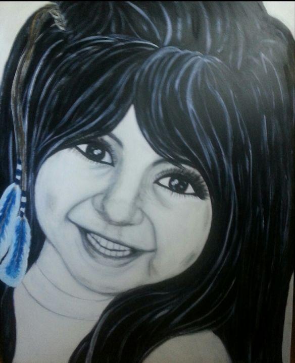 Alli lady - Artist Jamie Mossier