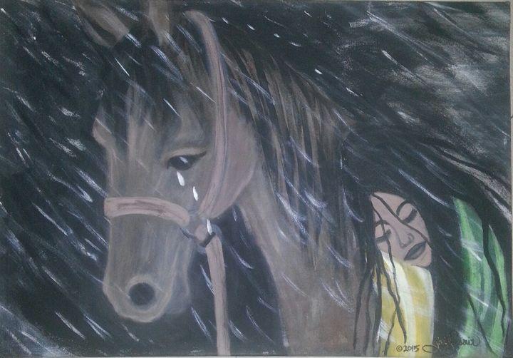 Her last ride - Artist Jamie Mossier
