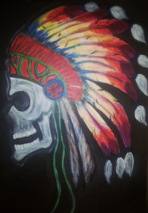 Warrior forever - Artist Jamie Mossier