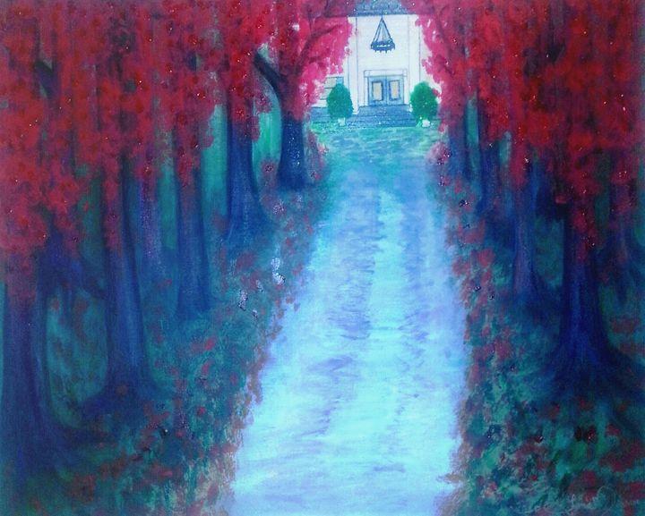 Old plantation - Artist Jamie Mossier