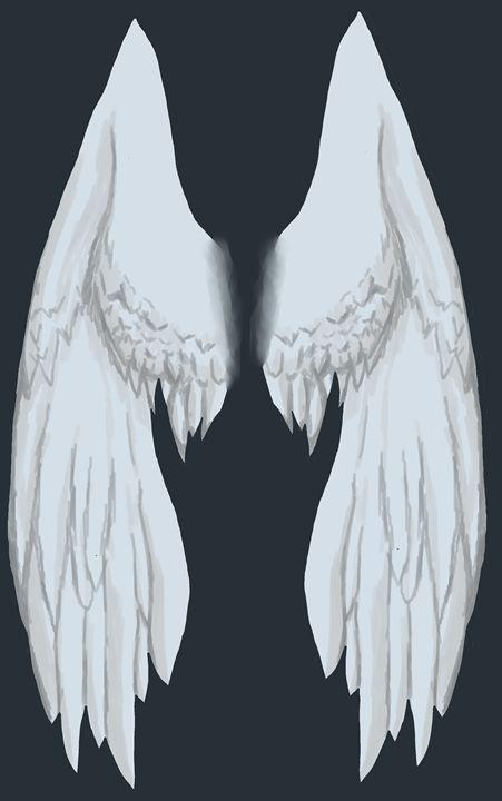 Snow White Wings - Purple Ball Studios