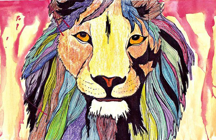 Colorful Killer - Katie Thayer