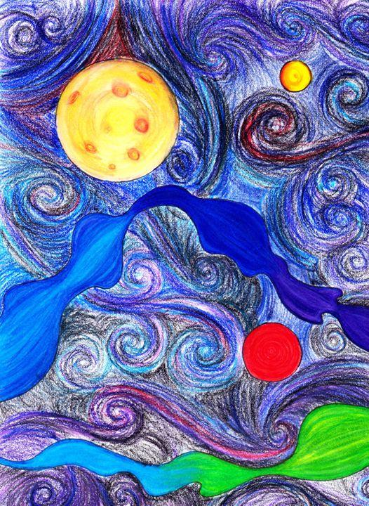 Galactic Swirl - Katie Thayer