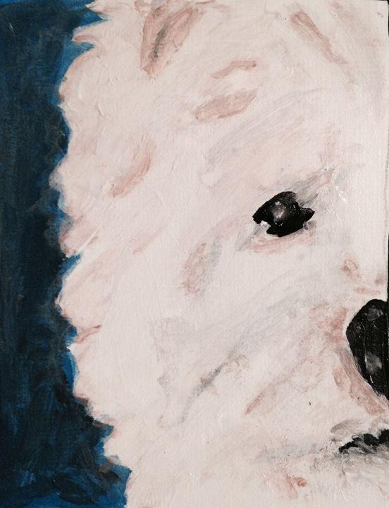 Westie Portrait - SkipperArt