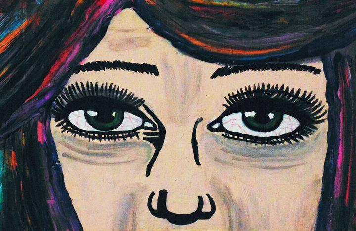 Sad Soul - Amber McNeel Art