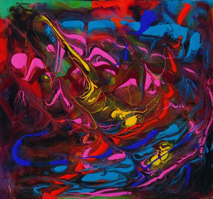 Colorful Chaos - Amber McNeel Art