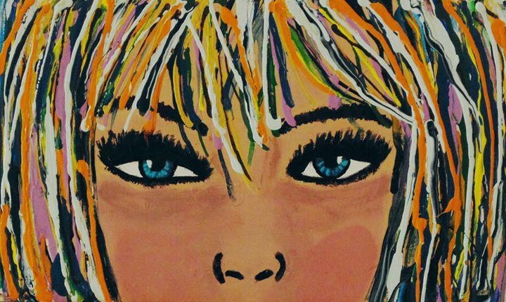 Staring Back - Amber McNeel Art