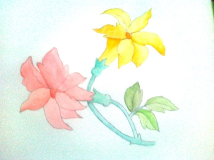 Water Painting - Drawing and Painting