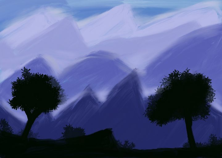 Misty mountains - Scapesco