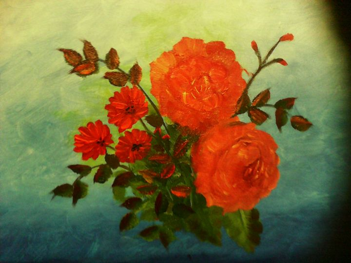 Orange Roses - Nimmi's Gallery