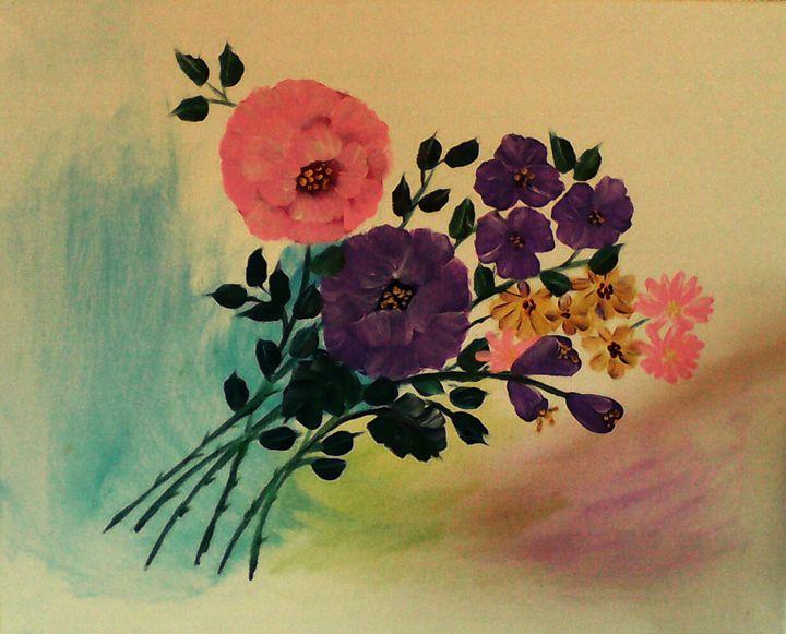 Flower Bouquet - Nimmi's Gallery