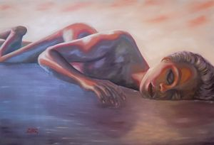 Melted Dream - XL Oil Painting