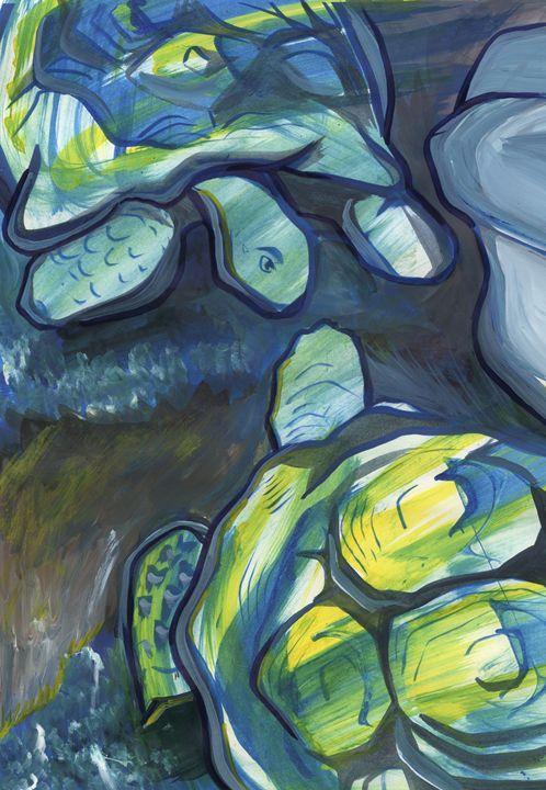 Turtles - William Inman Printshop