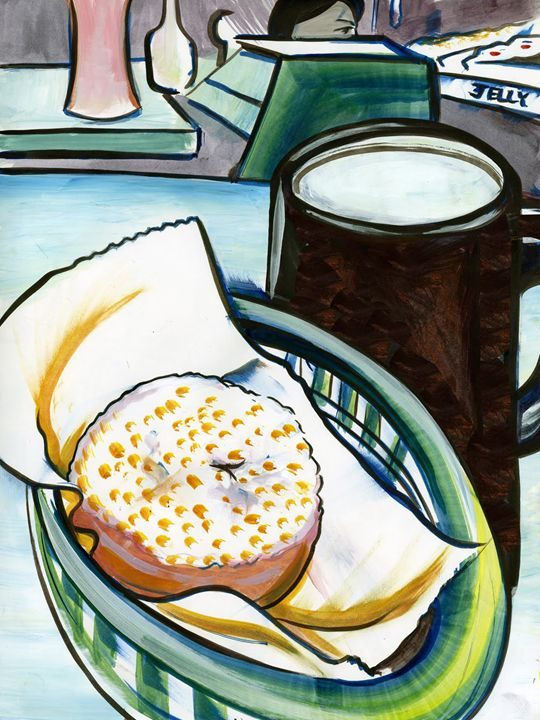 The Donut Shop - William Inman Printshop