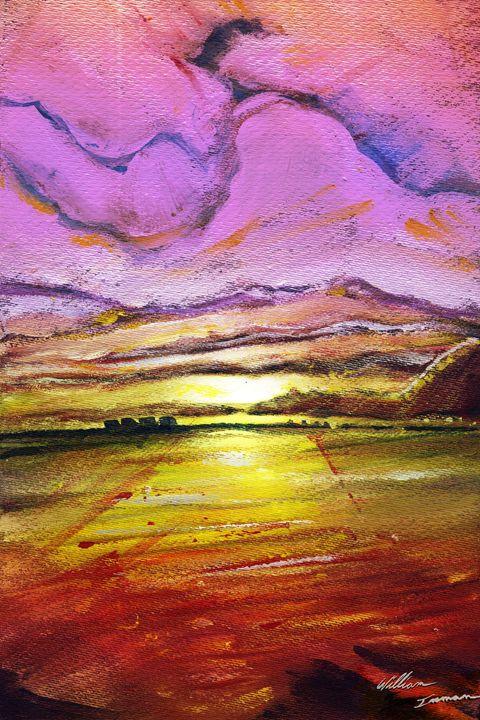 The Sarasota Sunset - William Inman Printshop