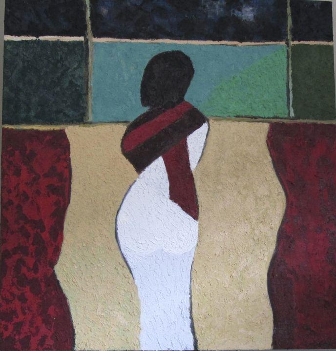 PENSIVE WOMAN - Elaine Cafritz Gallery