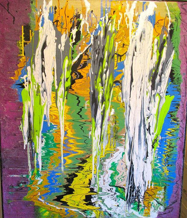Cascading Water - Elaine Cafritz Gallery