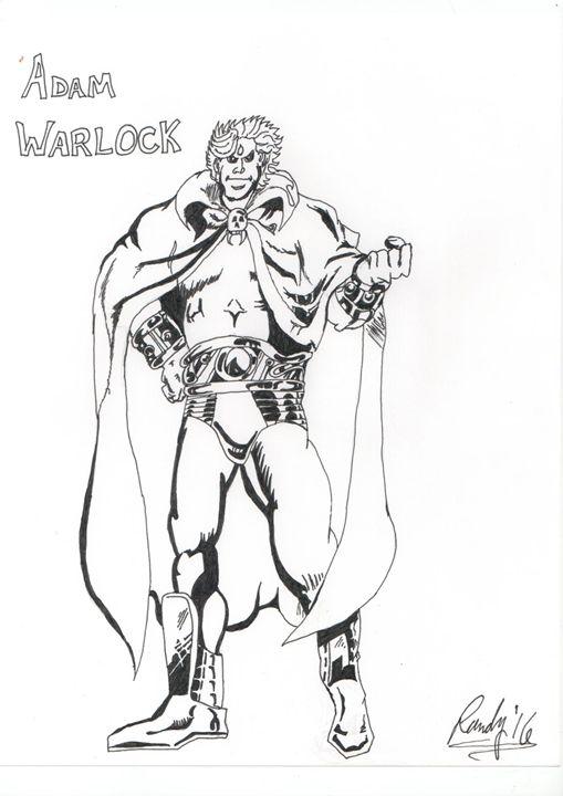Adam Warlock Inked - Randall Andrews