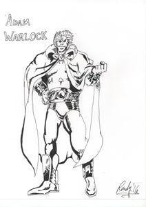 Adam Warlock Inked