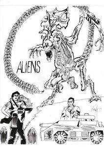 Aliens Queen