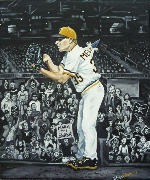 Mark The Shark Melancon - STeeLChUcK ART