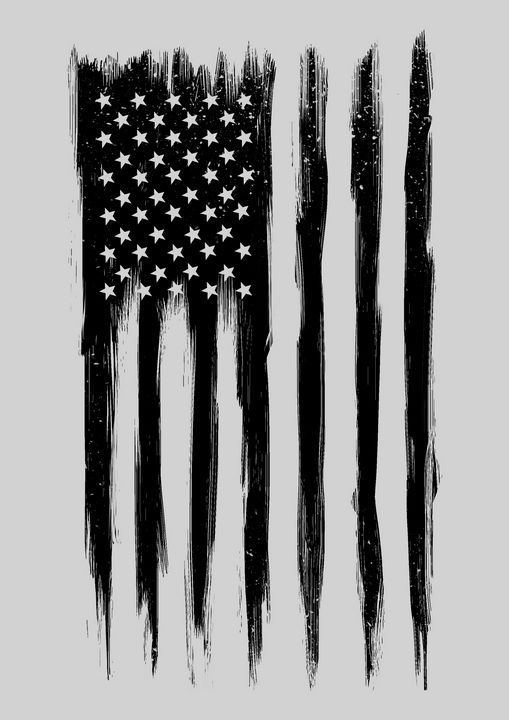 Black American Flag - barmalisiRTB