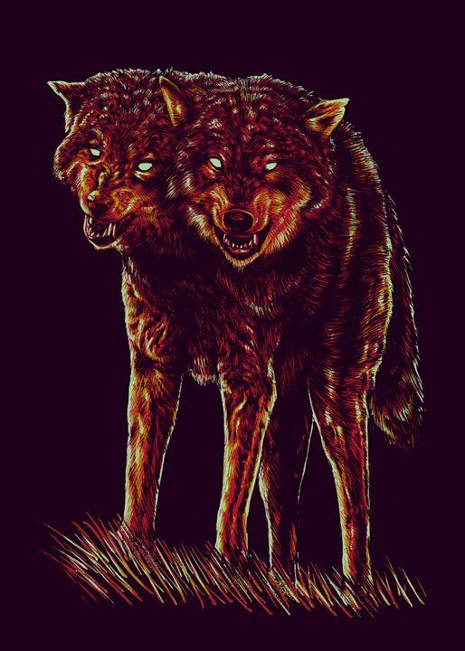 2 Head Wolf - barmalisiRTB