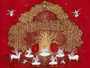 Kalpavriksha - Mahaveer Swami Art