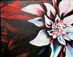 """Fresh Acrylic Painting - """"Unrefined"""" - Brittany Forrest"""